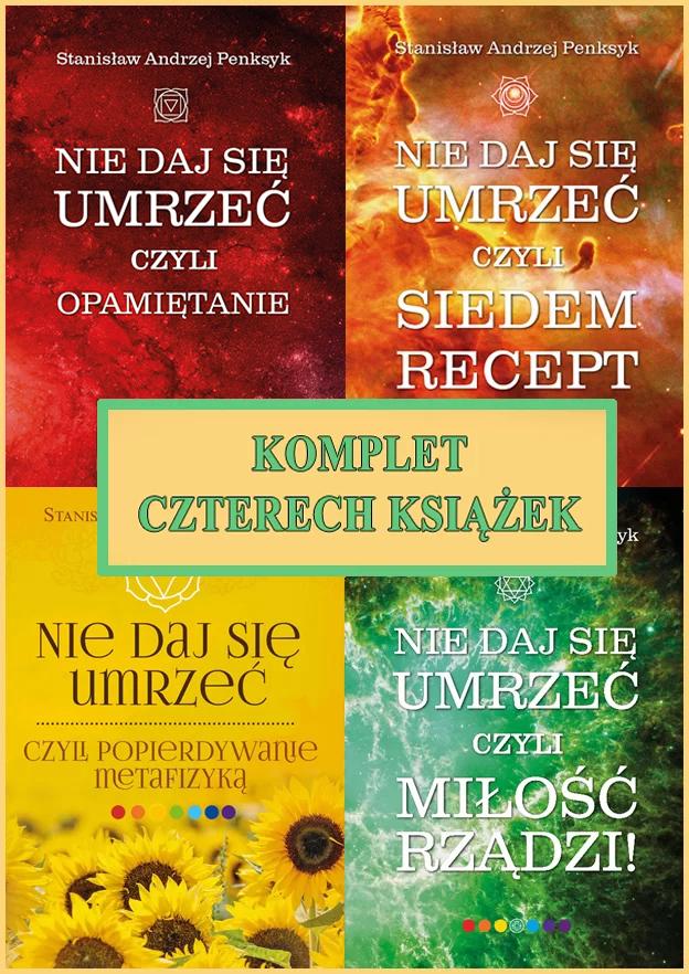 Komplet czterech książek Stanisława Penksyka