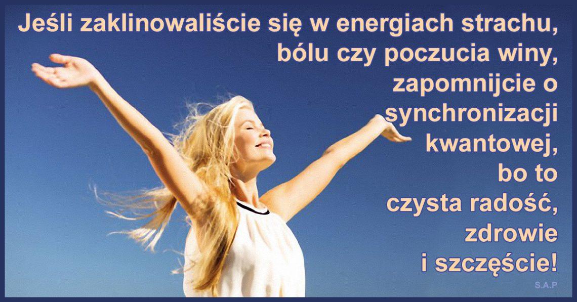 Gonitwa myśli to już przeszłość! Jeśli zaklinowaliście się w energiach strachu, zapomnijcie o synchronizacji kwantowej!