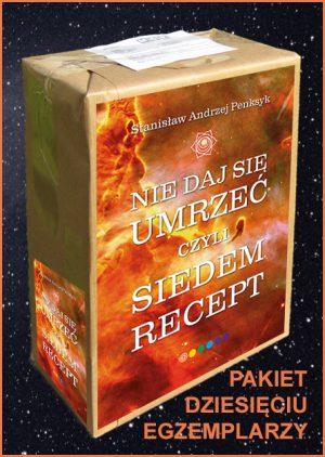 """""""Nie daj się umrzeć, czyli siedem recept"""" - recepty z tej książki to jest właśnie ten cudowny """"przepis"""", który zagwarantuje zdrowie aż do śmierci!"""
