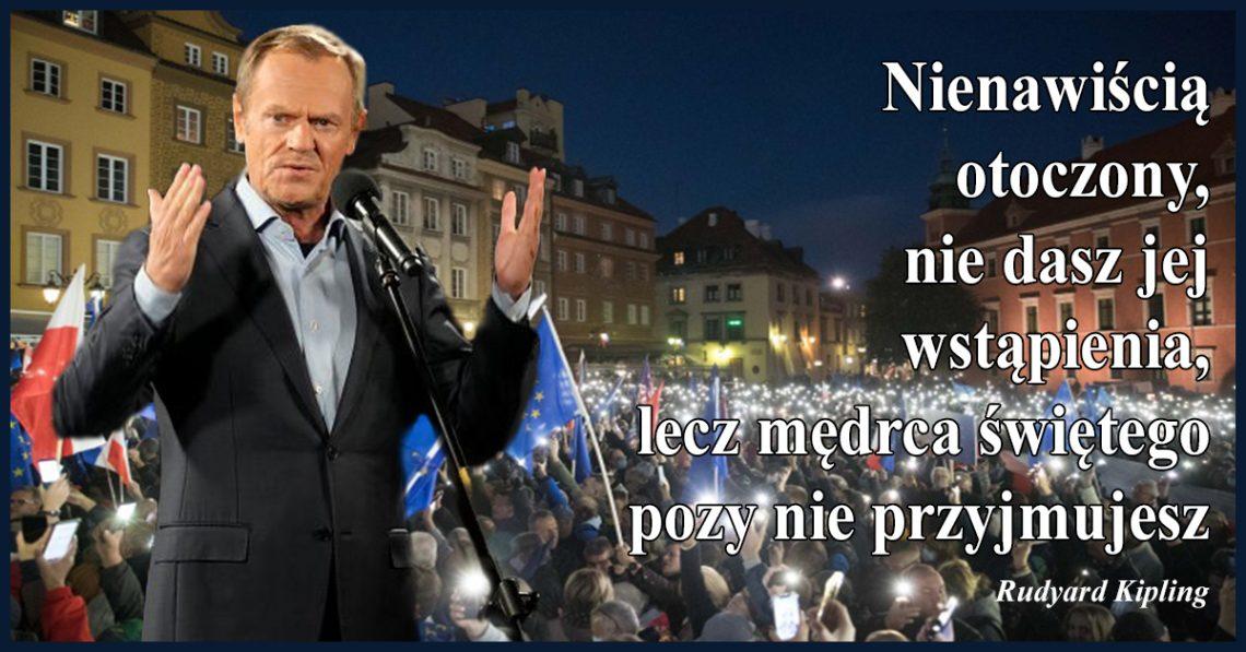 Polacy od dawna wiedzą, że chcą być w Unii i ani myślą z niej wychodzić, a jednak mi żal, że Tusk nie był stanie zaproponować spragnionym Polakom niczego nowego.